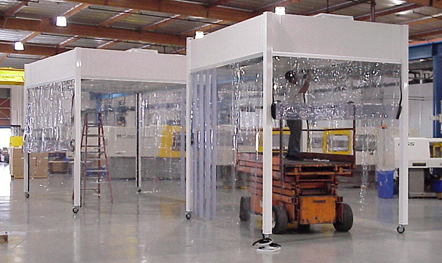 Portable Softwall Cleanroom Environments