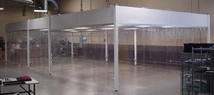 Portable Softwall Cleanroom Environments 2